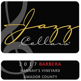 2017 Barbera Hannah's Vineyard
